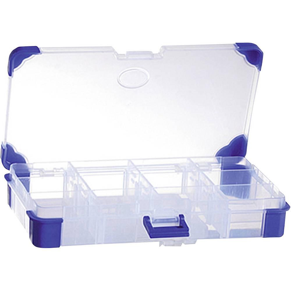 Sortirna škatla (D x Š x V) 200 x 110 x 30 mm VISO JAP 2011 št. predalov: 12 nastavljivo pregrajevanje