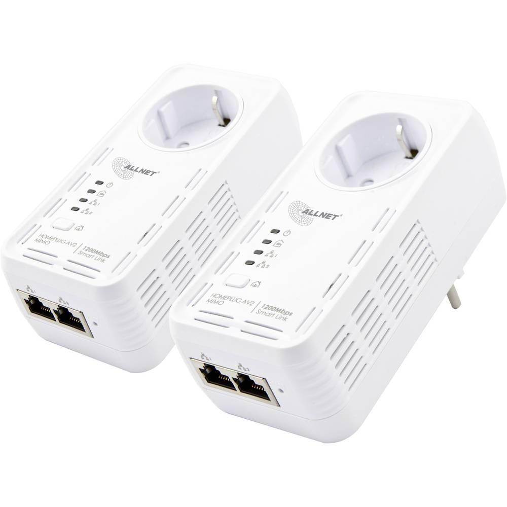 Powerline početnički komplet Allnet ALL1681205DOUBLE 1200 MBit/s