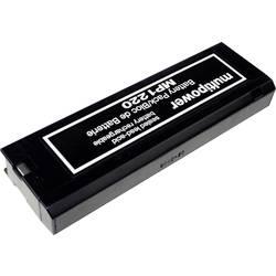 Svinčev akumulator 12 V 2 Ah multipower MP1220 B20111 svinčevo-koprenast (AGM) 201 x 61 x 25 mm vpenjalni pol, brez vzdrževanja