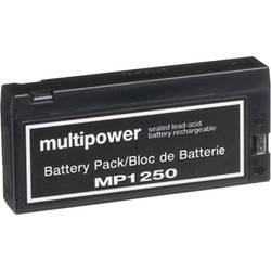 Olovni akumulator 12 V 2 Ah multipower MP1250 B20113MP olovo (AGM) (Š x V x DB) 143 x 64 x 23 mm priključni pol bez održavanja,