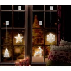 Okenska dekoracija, jelen LED Polarlite LBA-50-018 prozorna