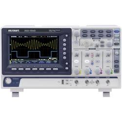Digitalni osciloskop VOLTCRAFT DSO-1104D 100 MHz 4-kanal 250 MSa/s 10 Mpts 8 Bit kalibriran po DAkkS digitalni pomnilnik (DSO),