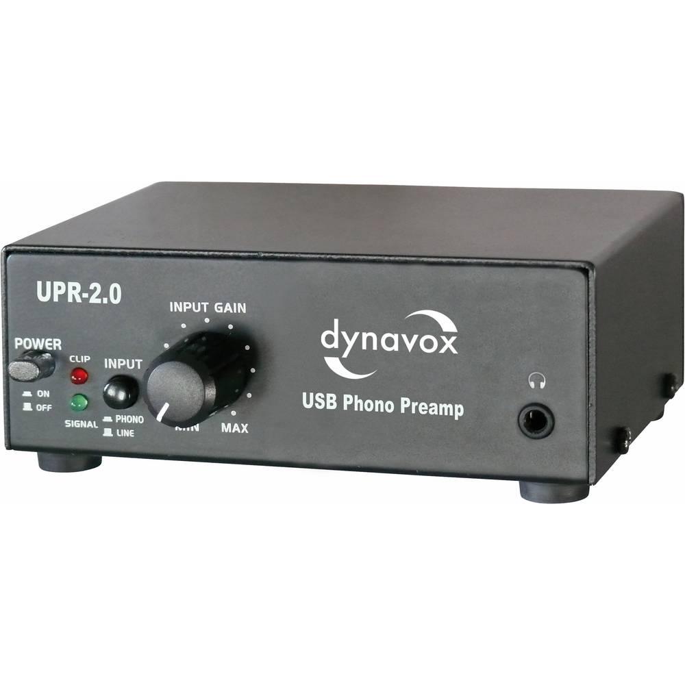 USB fono predpojačalo UPR-2.0 Dynavox crna