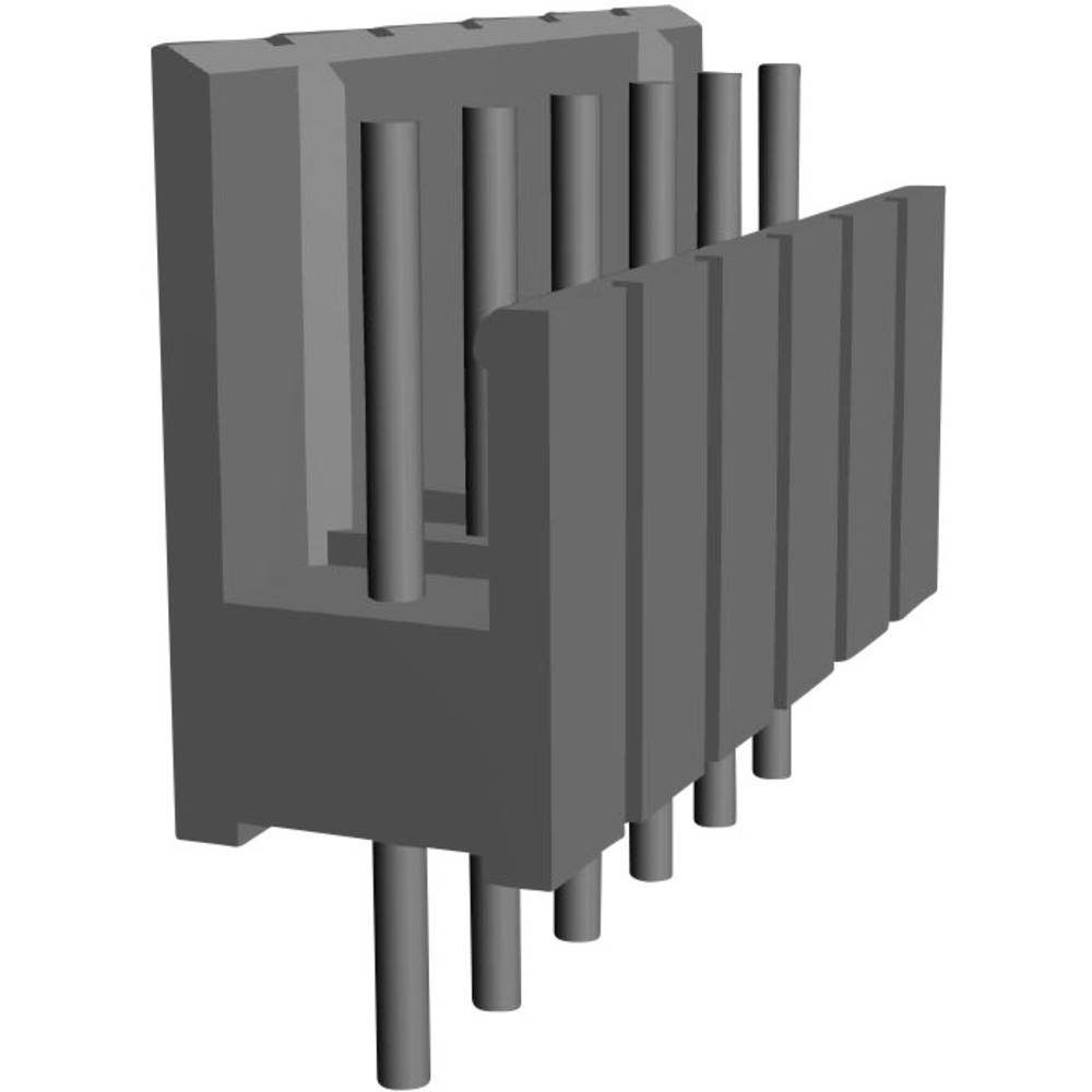 Pinski konektor (standarden) TE Connectivity 829154-6, mere: 2.54 mm 1 kos
