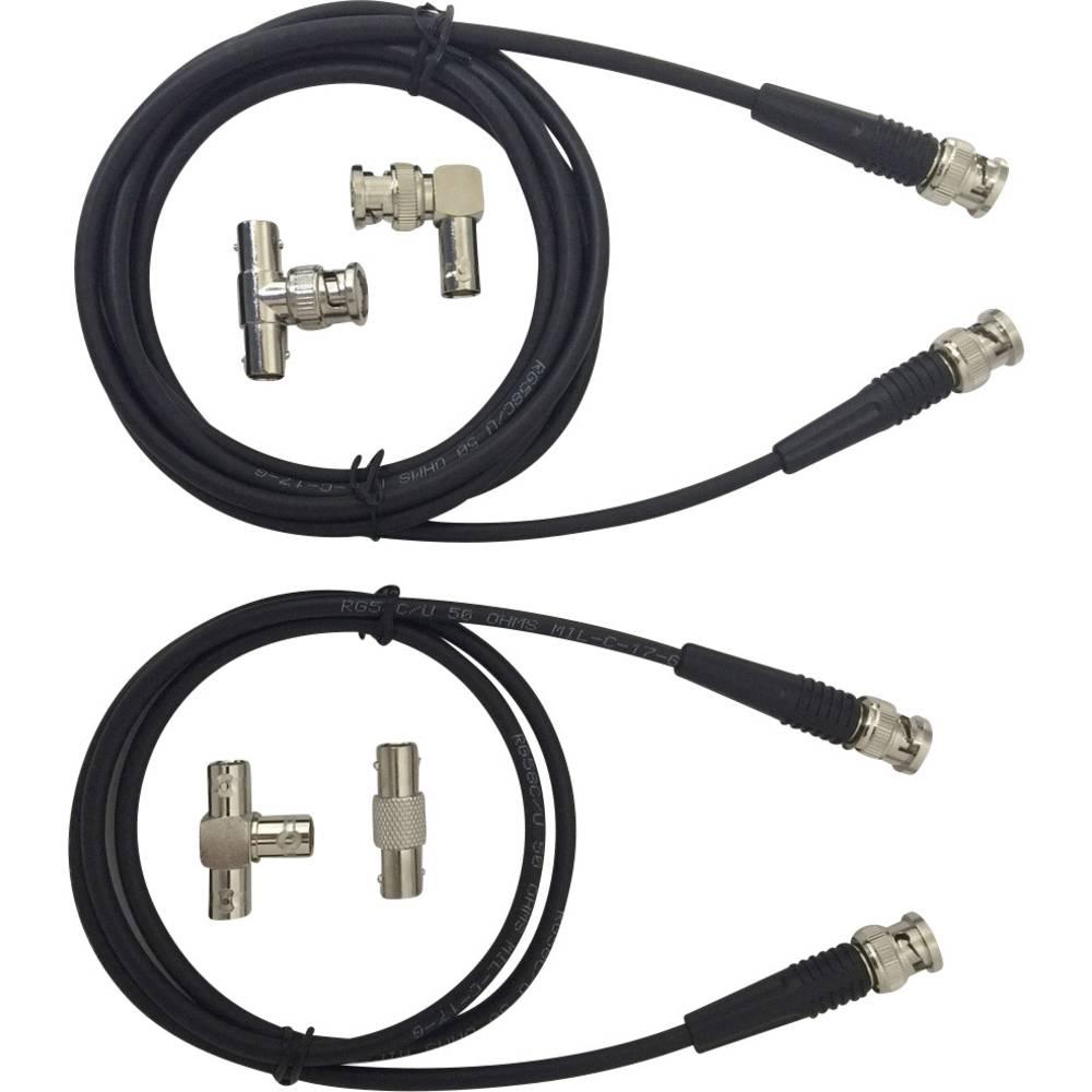Merilna kabla BNC Testec TT-SET 1200 [ BNC vtič ], 1 m, črna