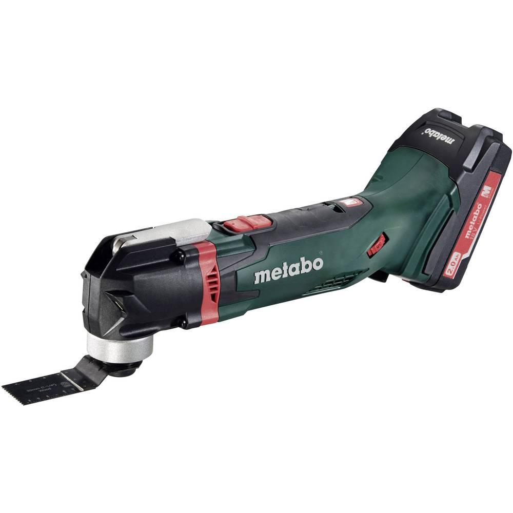Višenamjenski alat, uklj. 2 akumulatora, uklj. pribor, uklj. kovčeg 15-dijelni set 18 V 2 Ah Metabo MT 18 LTX Compact 613021510