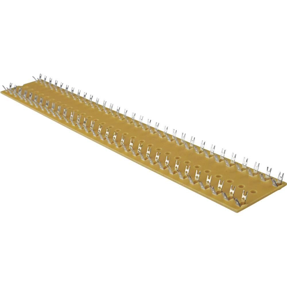 Spajkalna letev dvovrstični, št. polov skupaj 60, trd papir (D x Š x V) 500 x 38 x 8 mm WR Rademacher VK C-1020-2 1 kos