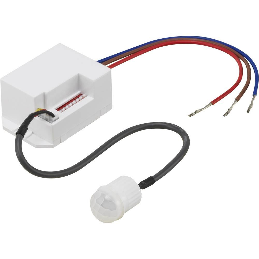 Vgradni PIR-senzor gibanja renkforce 1362990 120 ° bele barve IP20