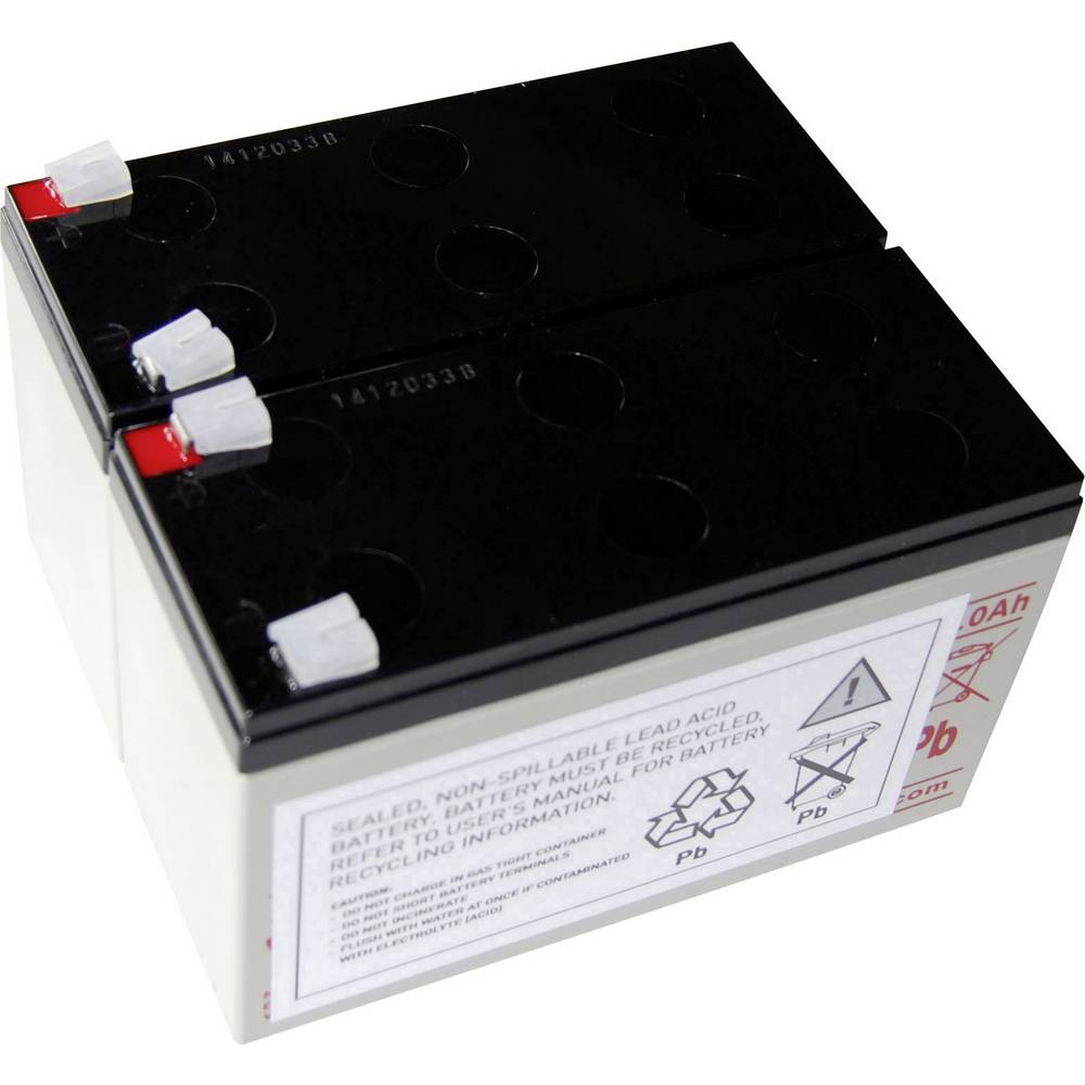 Baterija za UPS Conrad energy nadomešča orig. baterijo AEG A 1000 primerno za model: Protect A 1000