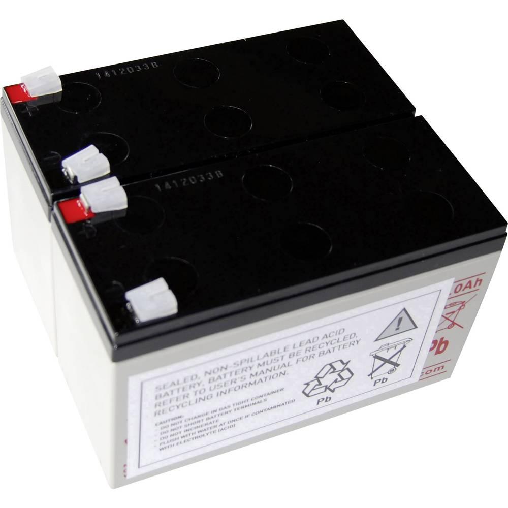 Baterija za UPS Conrad energy nadomešča orig. baterijo AEG A 1400 primerno za model: Protect A 1400