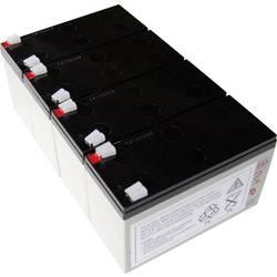 Akumulator za UPS Conrad energy zamjenjuje originalnu bateriju AEG B Pro 1400 za model (ostale) Protect B Pro 1400