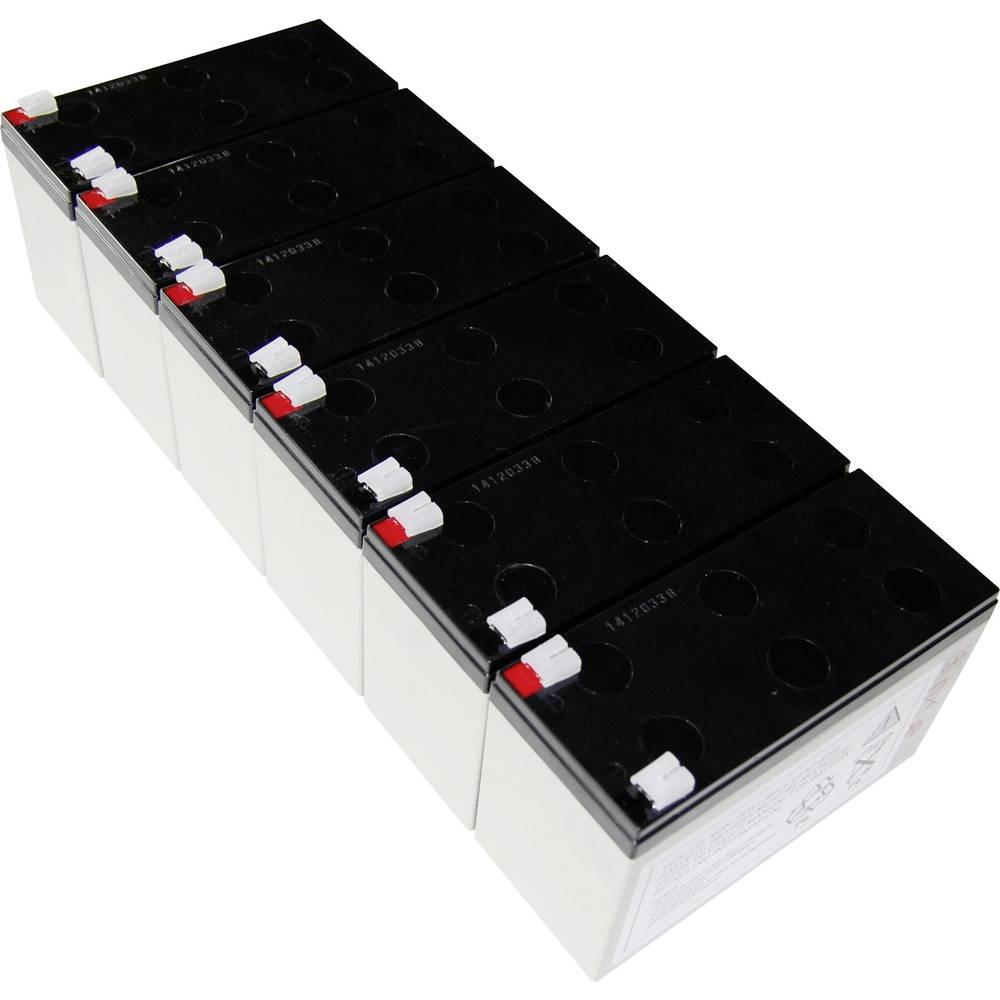 Baterija za UPS Conrad energy nadomešča orig. baterijo AEG B Pro 2300 primerno za model: Protect B Pro 2300