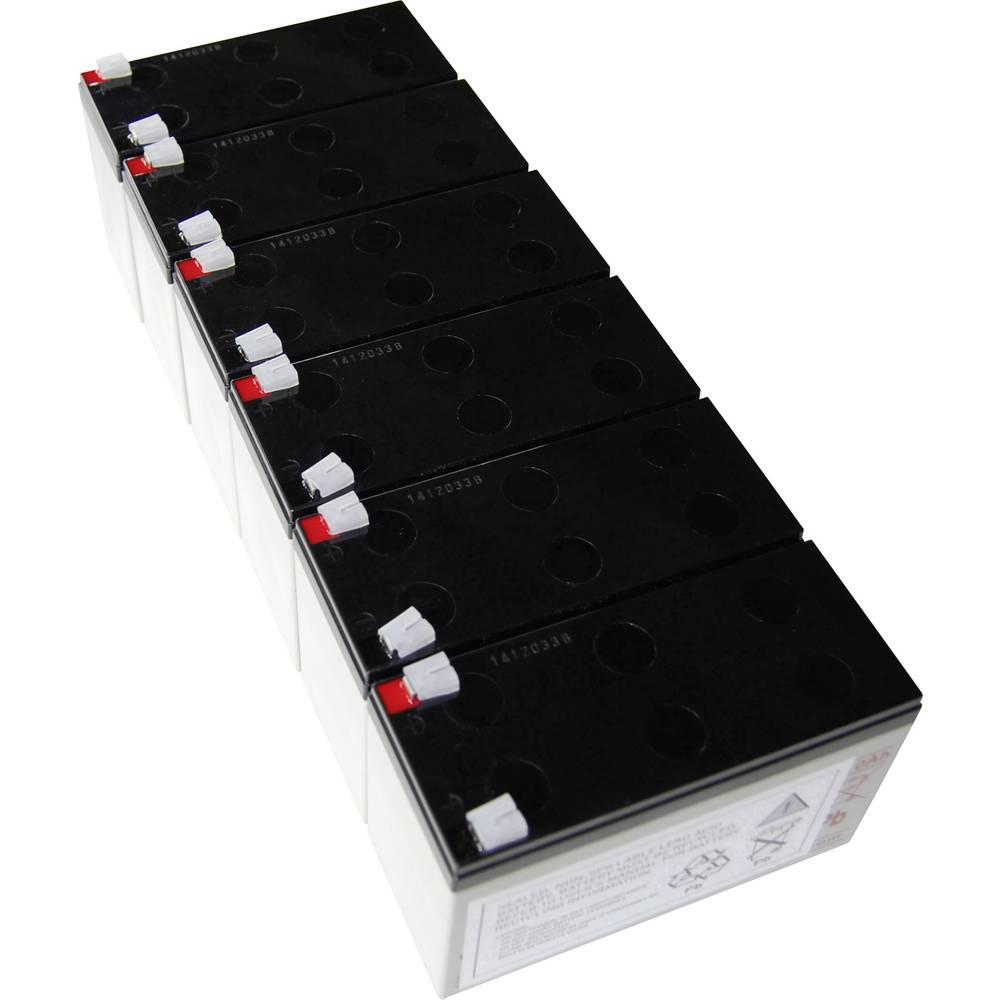 Baterija za UPS Conrad energy nadomešča orig. baterijo AEG C 1000 BP primerno za model: Protect C 1000 BP