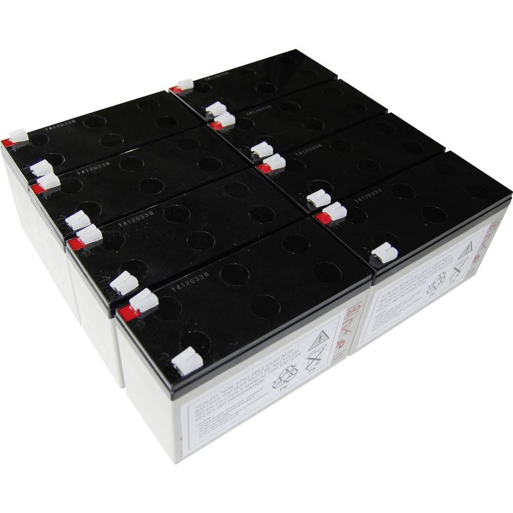 Baterija za UPS Conrad energy nadomešča orig. baterijo AEG C 3000 primerno za model: Protect C 3000