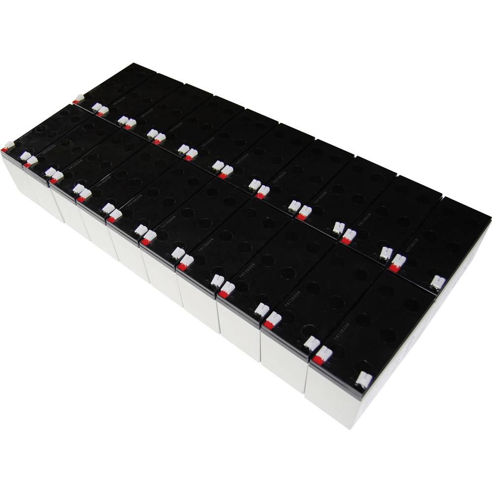 Baterija za UPS Conrad energy nadomešča orig. baterijo AEG C 6000 R BP primerno za model: Protect C 6000 R BP