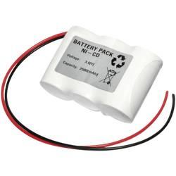 Nödljusbatteri Emmerich 36C2500R Kabel 3.6 V 2500 mAh