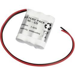 Nödljusbatteri Emmerich 36AA800R Kabel 3.6 V 800 mAh