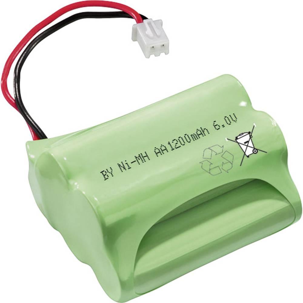 Esotec Akumulatorski paket Mignon 6 V s priključkom 1200 mAh