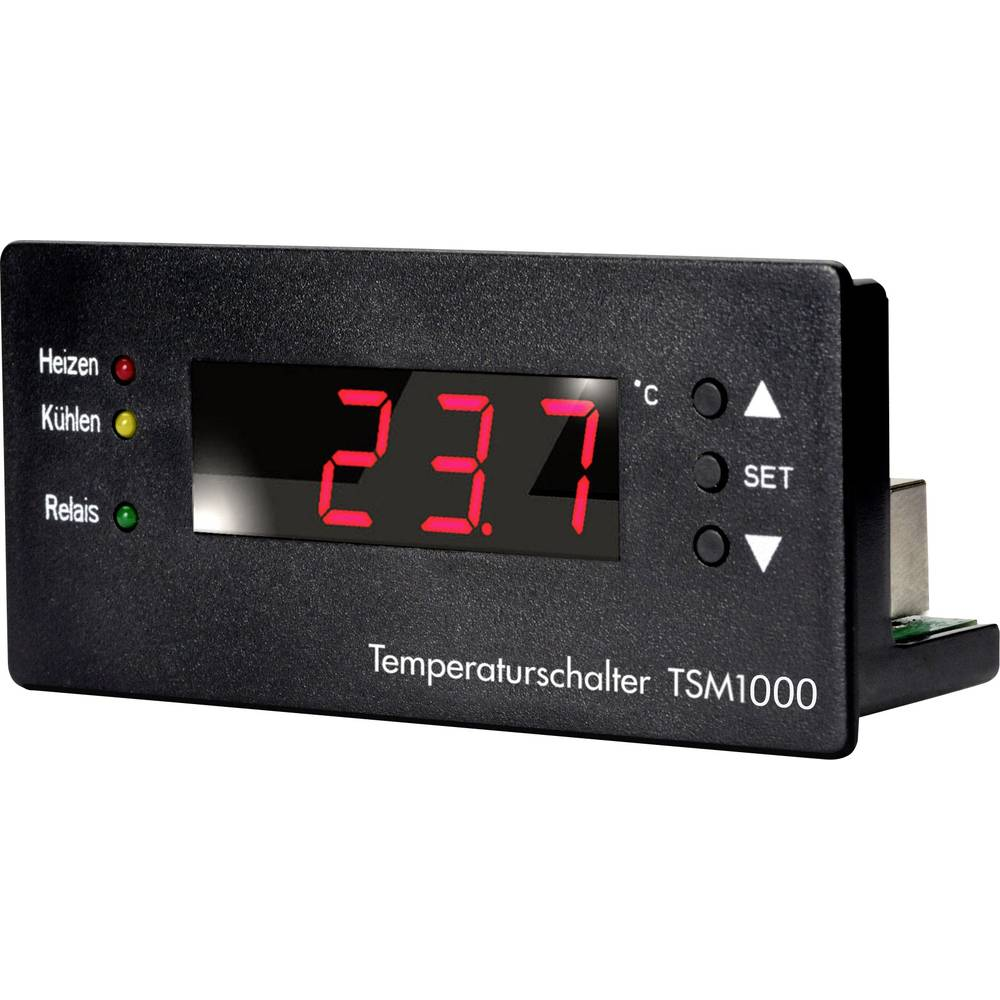 Regulator temperature H-Tronic TSM 1000 1114470 10 - 15 V/DC temperaturno područje (°C) -99 °C - +850 °C