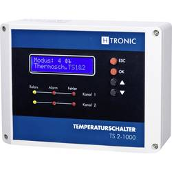 Regulator temperature TS 2-1000 1114490 H-Tronic 230 V/AC izlazi: 4 relejna izlaza Sensortyp PT100