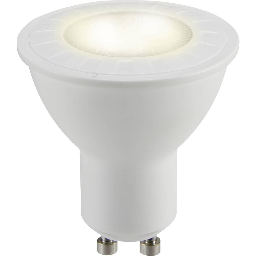 Sygonix LED ATT.CALC.EEK A+ (A++ - E) GU10 Reflektor 4.8 W = 50 W Toplo bijela (Ø x D) 50 mm x 54 mm 1 ST