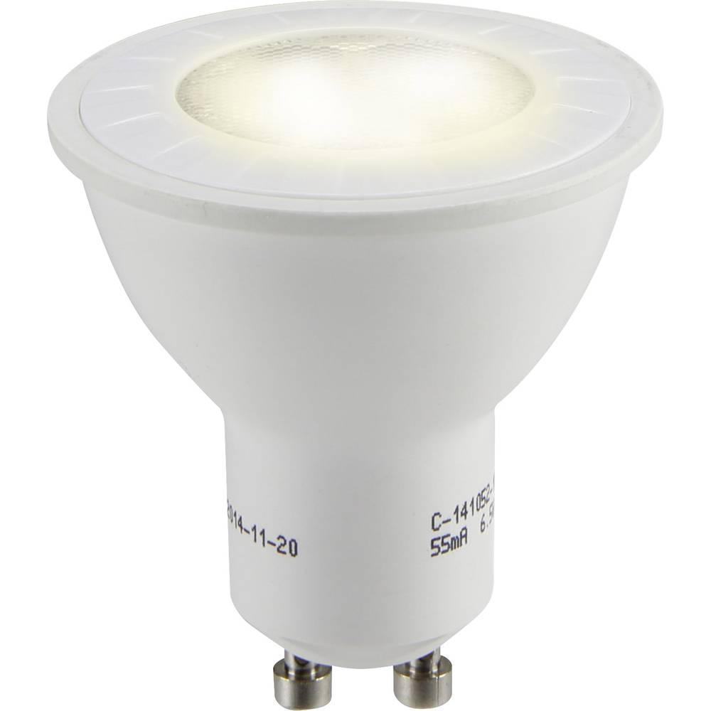 LED žarnica GU10 reflektorska 6.5 W = 50 W topla bela (premer x D) 50 mm x 54 mm EEK: A+ Sygonix 1 kos