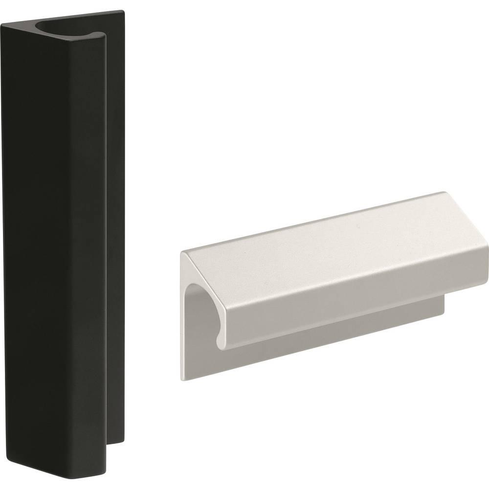 Pločasta ručka LF Rohde LF-02.100.01 (D x Š) 120 mm x 46.5 mm aluminij srebrna
