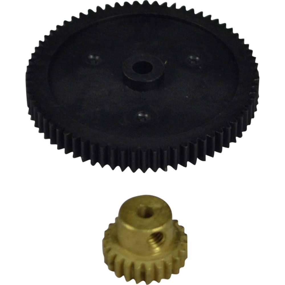 Rezervni dio Reely 10472+10323+RH5117 Zupčanik 70 zubaca, mali zupčanik za motor