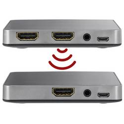 Trådlös HDMI-överföring (Set) SpeaKa Professional SP-HDFS-01 30 m 5 GHz 1920 x 1080 pix