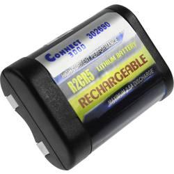 Kamerabatteri Connect 3000 Ersättning originalbatteri 2CR5 6 V 500 mAh