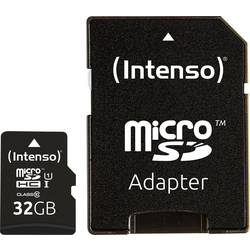 microSDHC-kartica 32 GB Intenso Professional Class 10, UHS-I vklj. SD-adapter