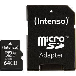 microSDXC-kartica 64 GB Intenso Professional Class 10, UHS-I uklj. SD-adapter