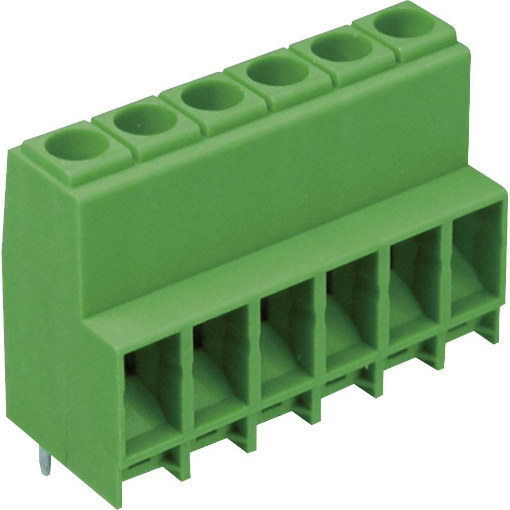 Skrueklemmeblok MH140-635M803 10.00 mm² Poltal 3 Grøn 1 stk