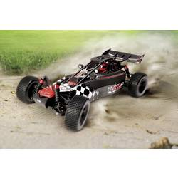 RC-modelbil Buggy 1:10 Reely Carbon Fighter EVO Brushless Elektronik 4WD RtR
