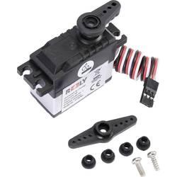 Reely Standard-Servo RS-606WP MG Analog-servo Transmissionsmaterial: Plast Instickssystem: JR