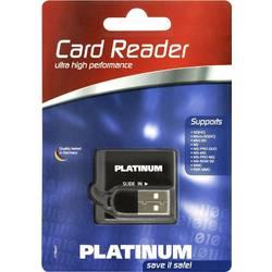 Zunanji bralnik spominskih kartic USB 2.0 Platinum