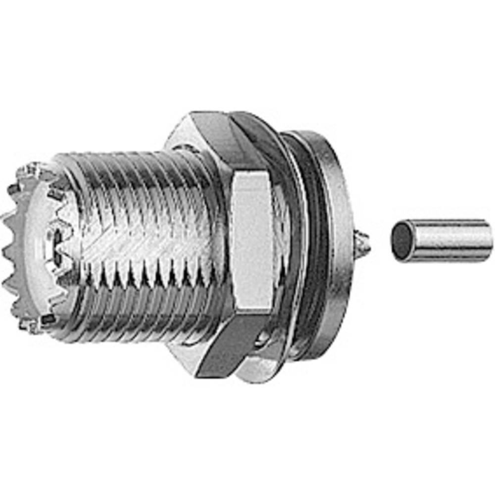 UHF-stikforbindelse Telegärtner J01041A0004 50 Ohm Tilslutning, indbygning 1 stk