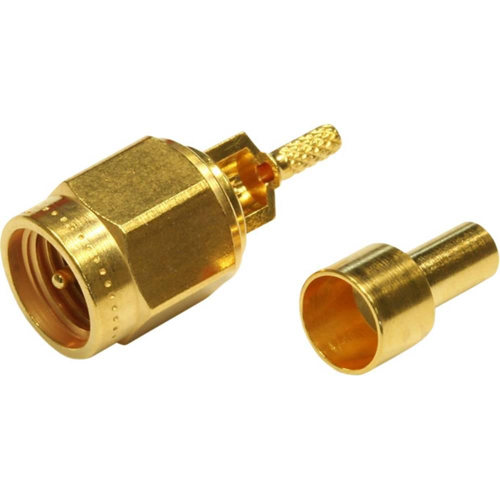 SMA-stikforbindelse Telegärtner J01150A0601 50 Ohm Stik, lige 1 stk