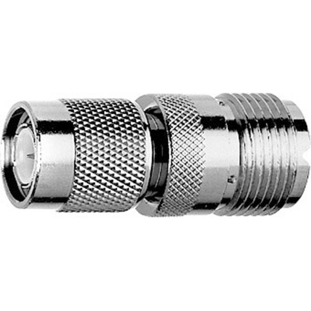 Koax-adapter TNC-Stecker (value.1390819) - UHF-Buchse (value.1390981) Telegärtner J01019A0003 1 stk