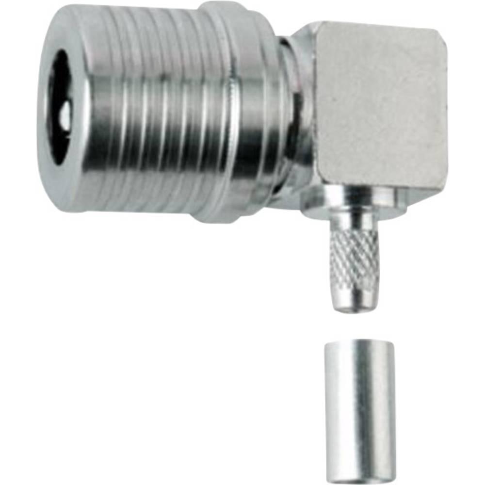 QLS-stikforbindelse Telegärtner J01420A0035 50 Ohm Stik, vinklet 1 stk