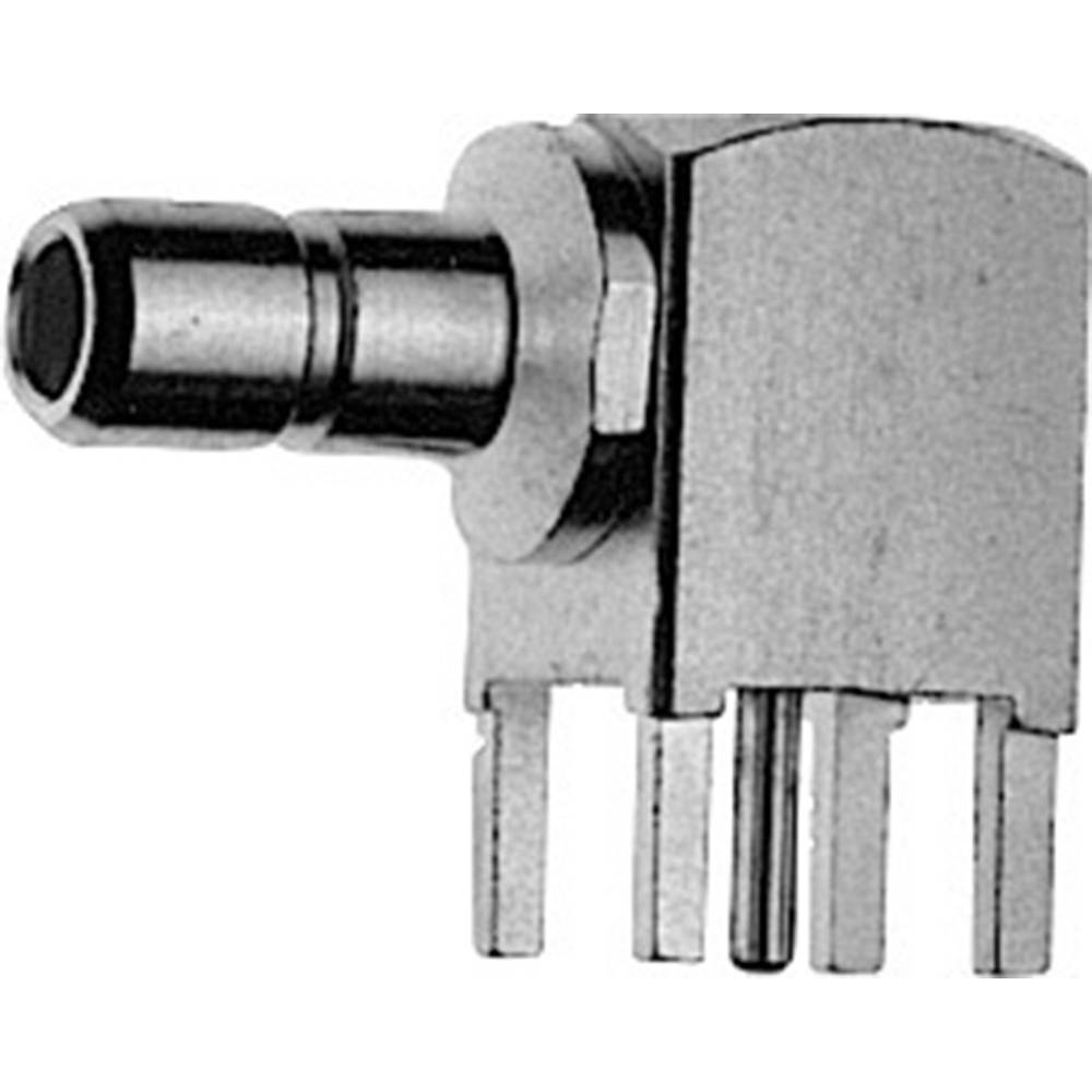 SMB-stikforbindelse Telegärtner J01160A0238 50 Ohm Stik, indbygning vandret 1 stk