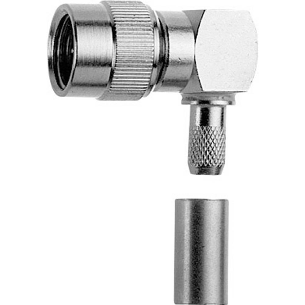 Mini-UHF-stikforbindelse Telegärtner J01045A0002 50 Ohm Stik, vinklet 1 stk
