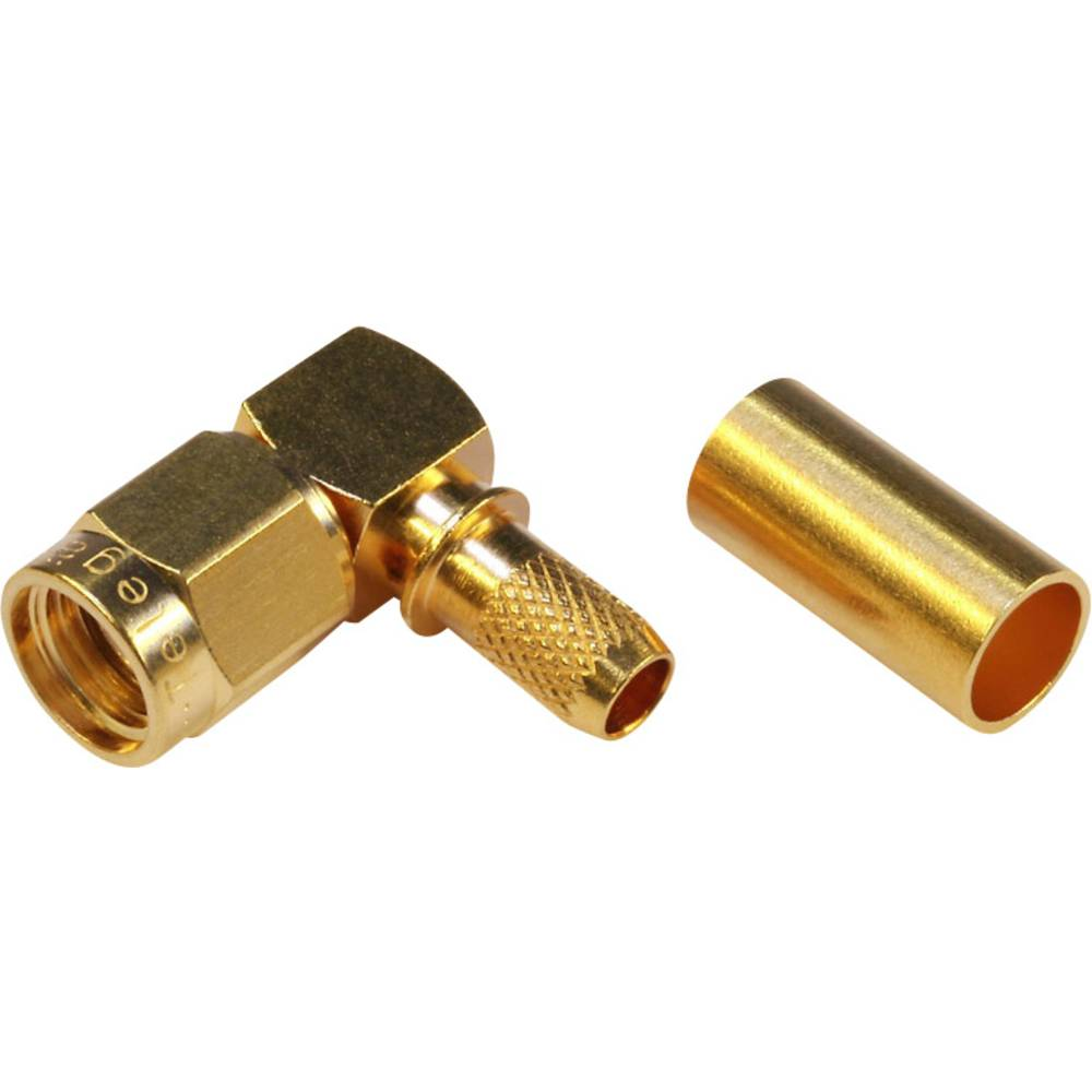 SMA-reverse-stikforbindelse Telegärtner J01150R0031 50 Ohm Stik, vinklet 1 stk