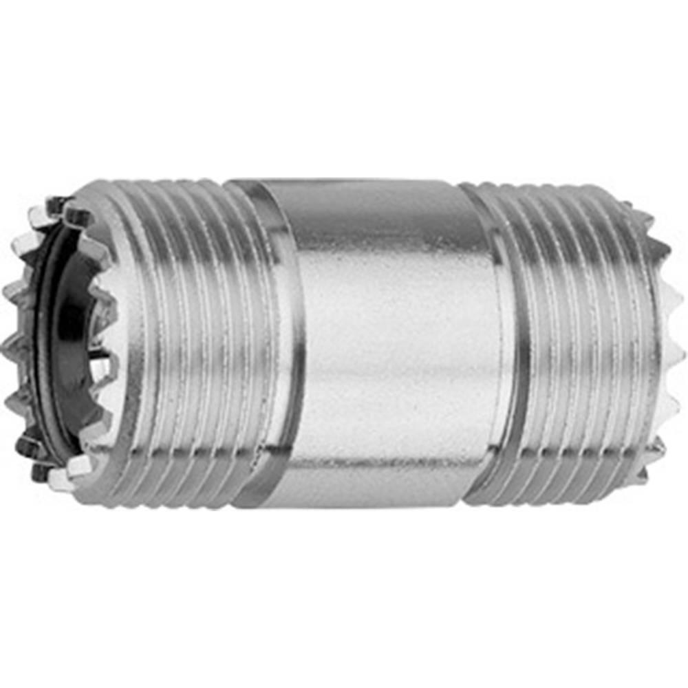 BNC-adapter UHF-Buchse (value.1390981) - UHF-Buchse (value.1390981) Telegärtner 1 stk