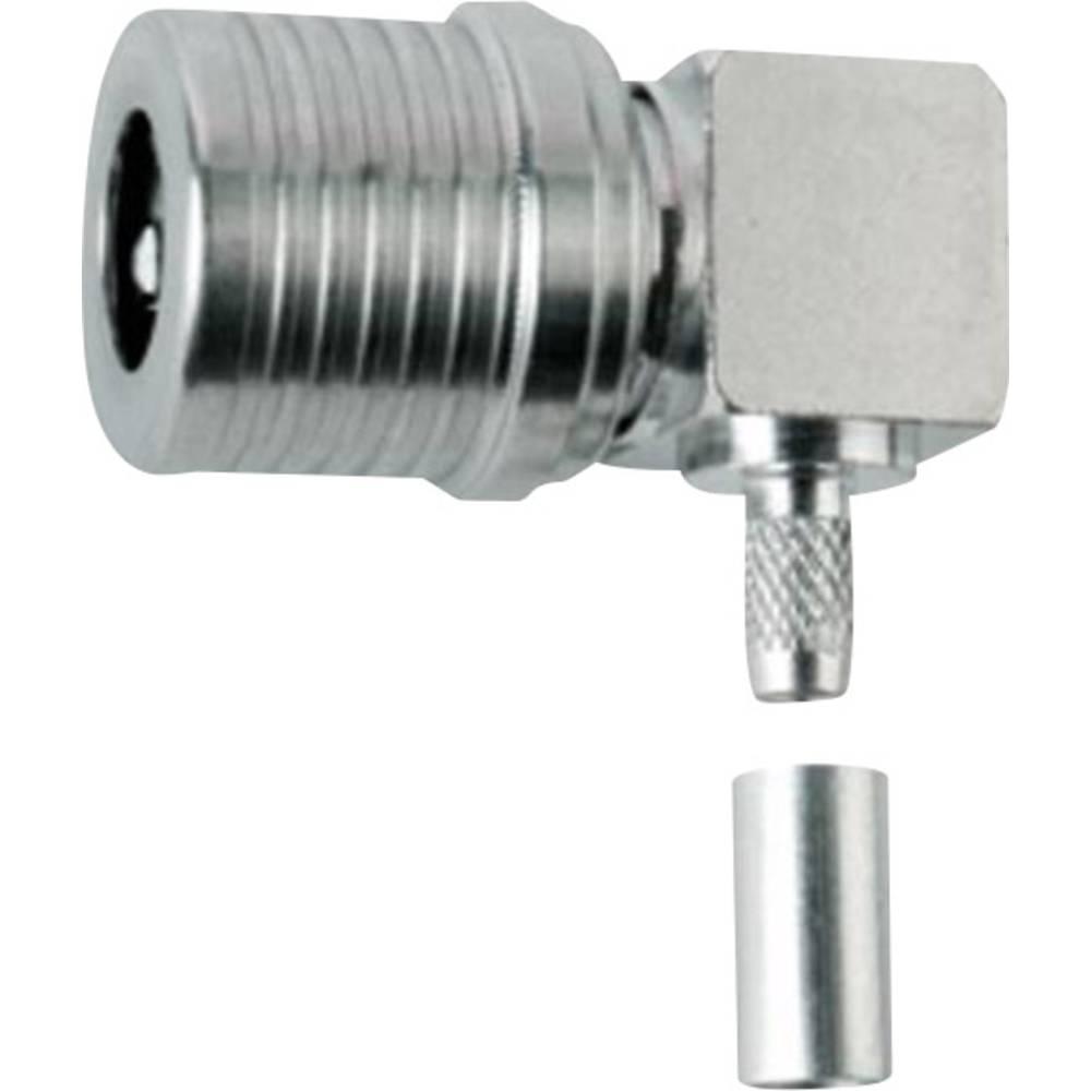 QLS-stikforbindelse Telegärtner J01420A0115 50 Ohm Stik, vinklet 1 stk