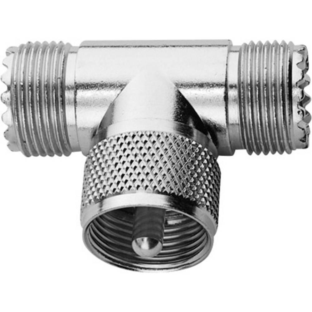 BNC-adapter UHF-Buchse (value.1390981) - UHF-Stecker (value.1390899), UHF-Buchse (value.1390981) Telegärtner 1 stk