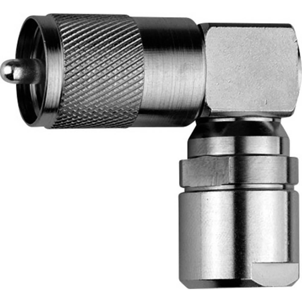 UHF-stikforbindelse Telegärtner J01040B1202 50 Ohm Stik, vinklet 1 stk
