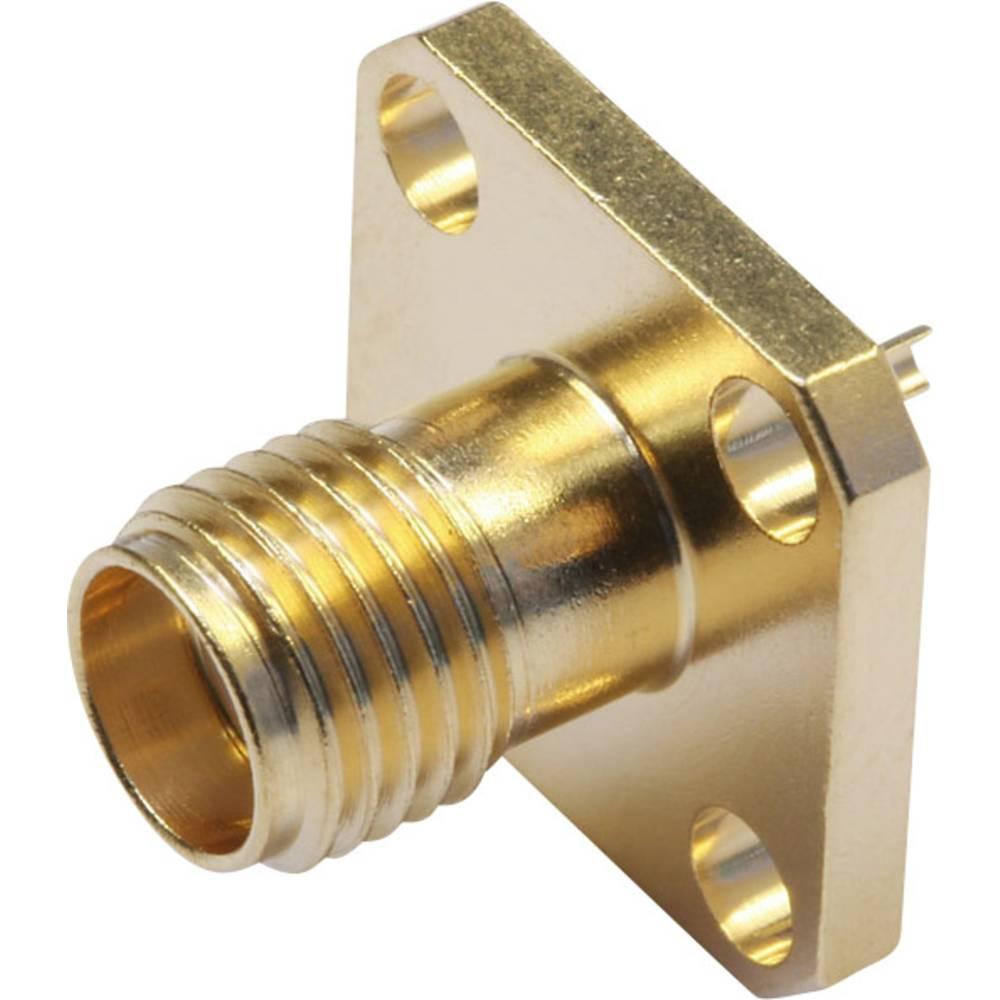 SMA-stikforbindelse Telegärtner J01151A0811 50 Ohm Flangetilslutning 1 stk