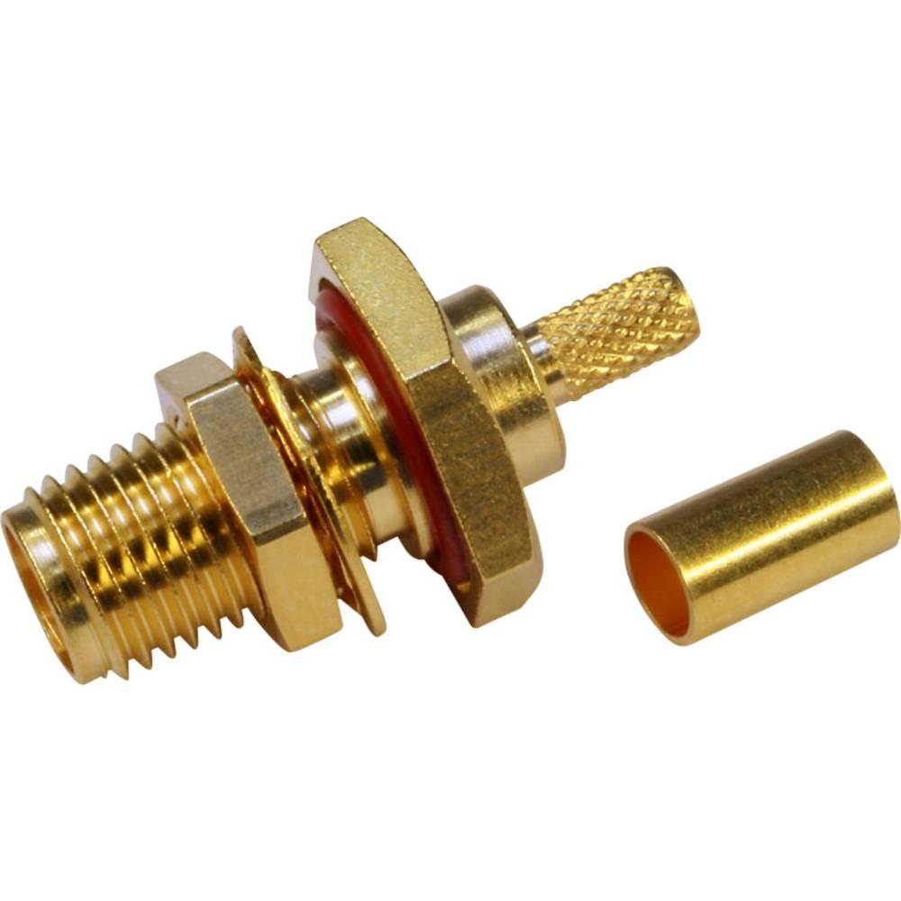 SMA-reverse-stikforbindelse Telegärtner J01151R0001 50 Ohm Tilslutning, indbygning 1 stk
