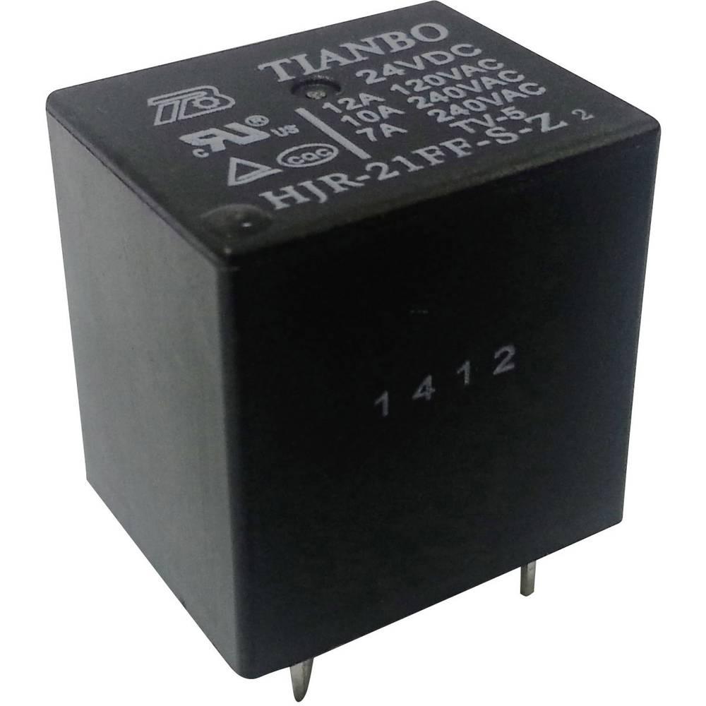 Rele za tiskana vezja 24 V/DC 15 A 1 preklopni Tianbo Electronics HJR-21FF-S-Z 24VDC 1 kos